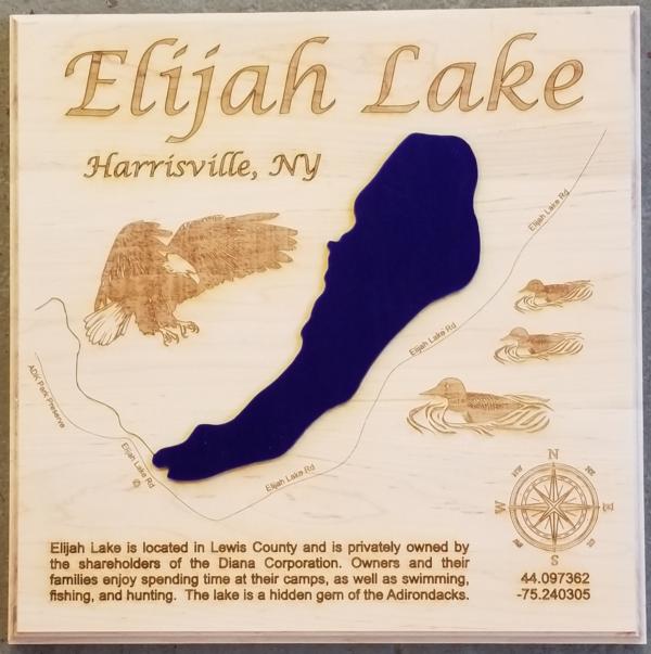 Elijah Lake - Harrisville NY