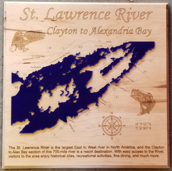 St. Lawrence River - Clayton to Abay